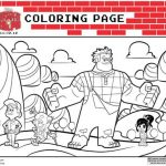 Fun Wreck It Ralph Color Pages and Printable Activities! #WreckItRalph
