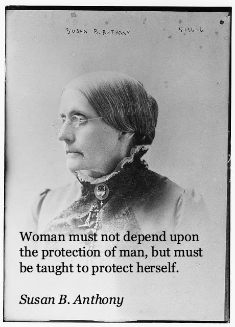 Susan B Anthony Inspirational Quote